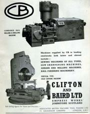 Clifton & Baird Ltd